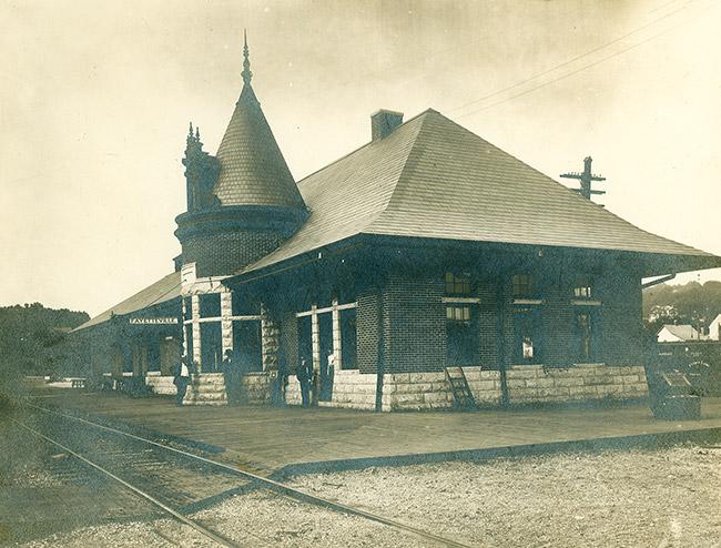 Fayetteville Frisco Depot