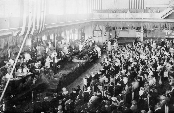 GFWC Convention; 1918