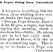 John Hogan Lynching Article