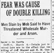 Monroe County Lynching Article