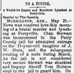 Charles Stewart Lynching Article