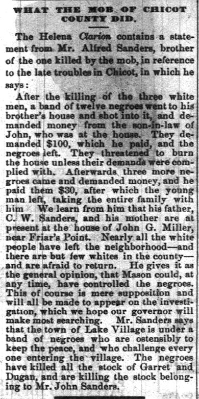 Race War Article