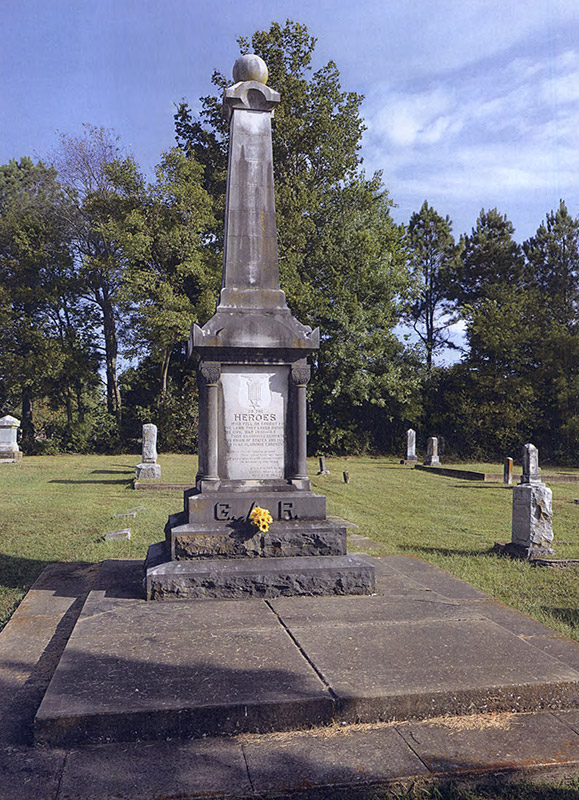 Gentry GAR Monument