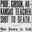 Gibson Murder Article