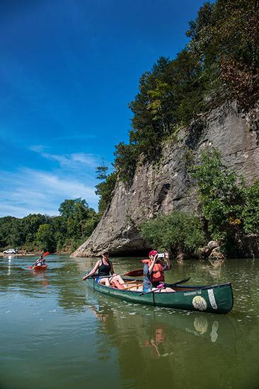 Buffalo River at Gilbert