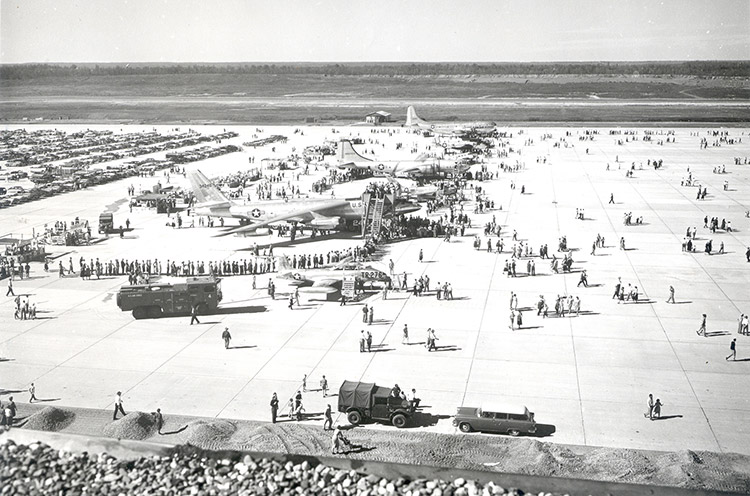 LRAFB Grand Opening Exhibits