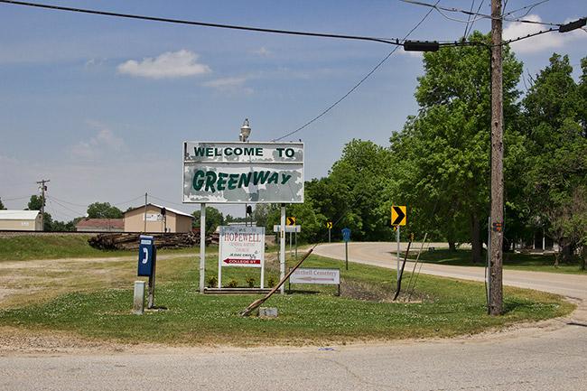 Entering Greenway
