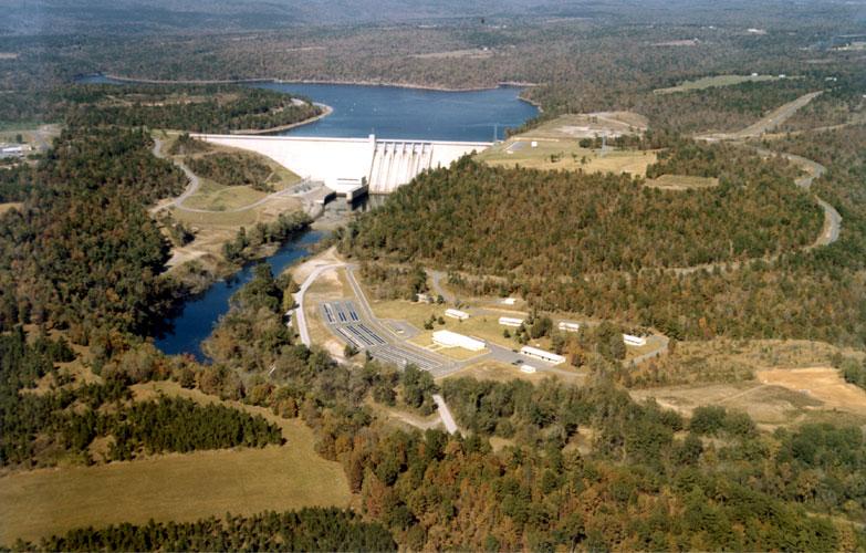 Greers Ferry Dam