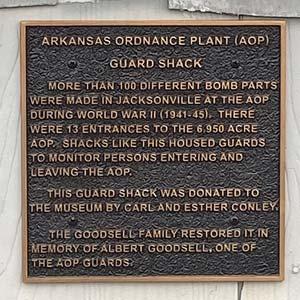 Guard House Plaque