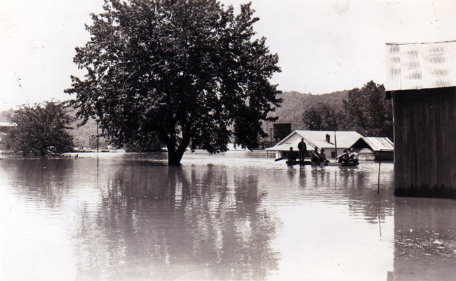 Guion Flooded