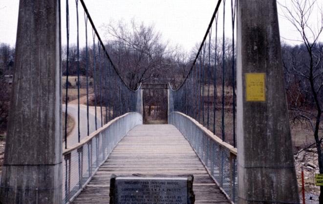 Haggard Ford Swinging Bridge