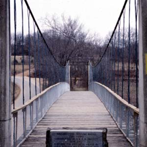 Haggard Ford Swinging Bridge