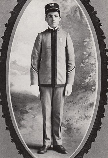 Cadet Arthur Harding