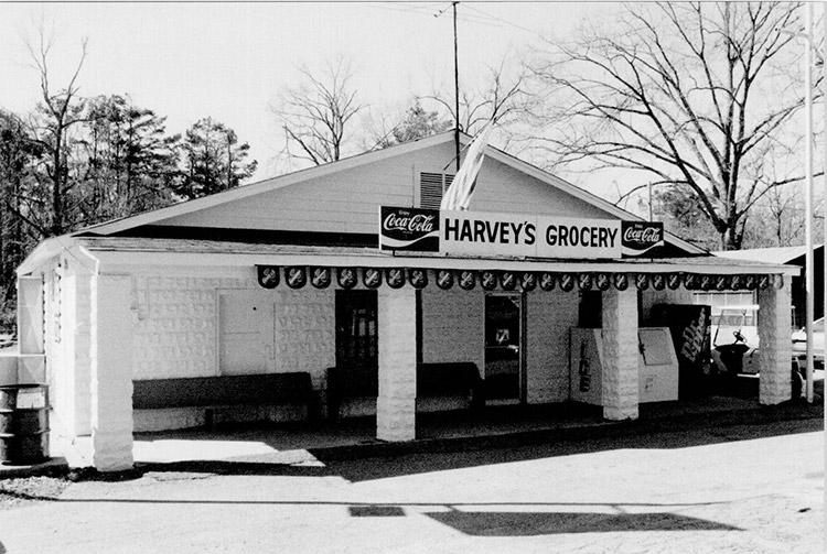 Harvey's Grocery and Texaco Station