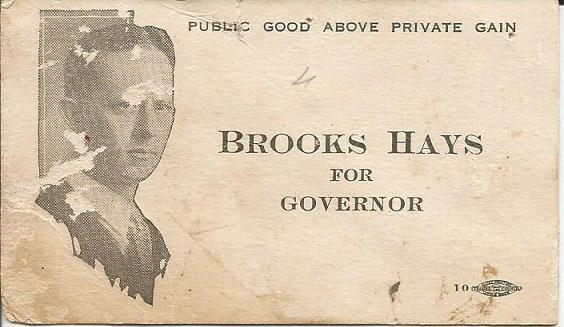 Brooks Hays Card