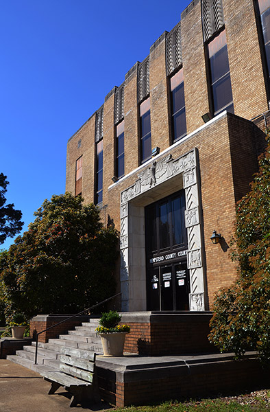Hempstead County Courthouse Entrance