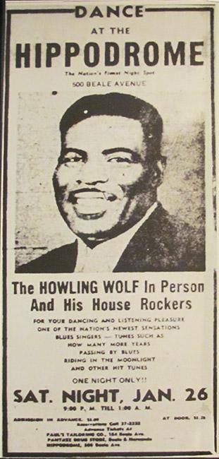 Howlin' Wolf Ad