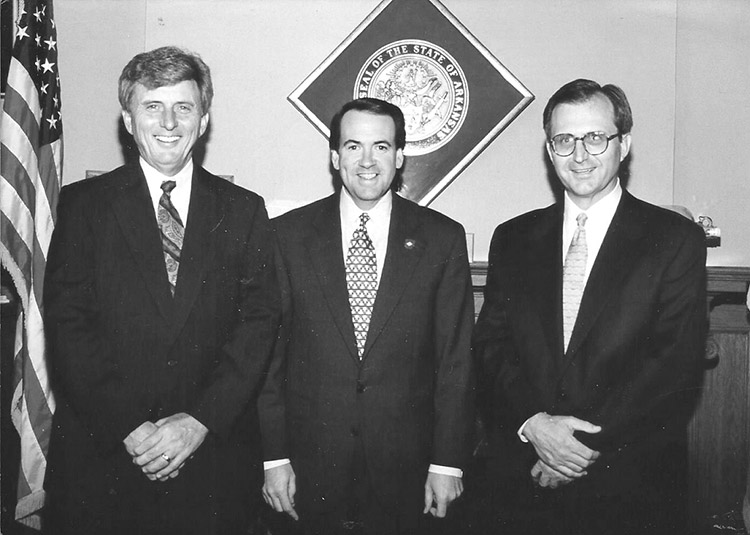 Beebe, Huckabee, and Bradbury