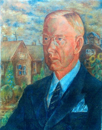 Joseph Hunter, portrait by Henry Sugimoto