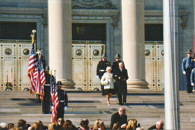 Hutchinson Inauguration