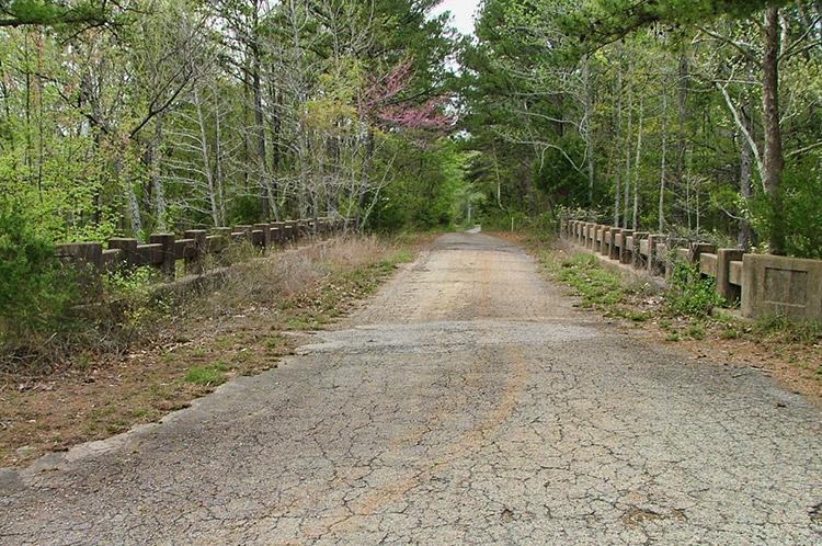 Old Highway 16 Bridge Entrance