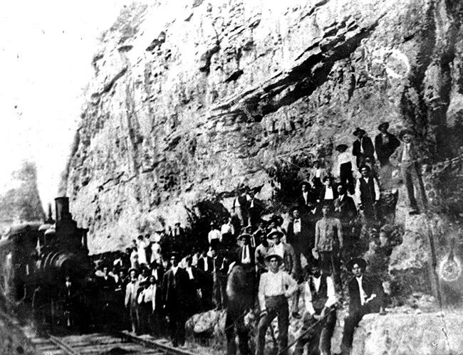 Iron Mountain Railway Crew