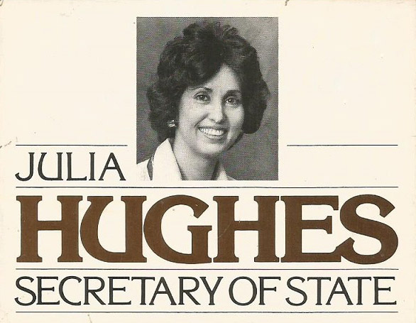 Julia Jones Campaign Material