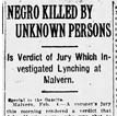 Harris Lynching Article