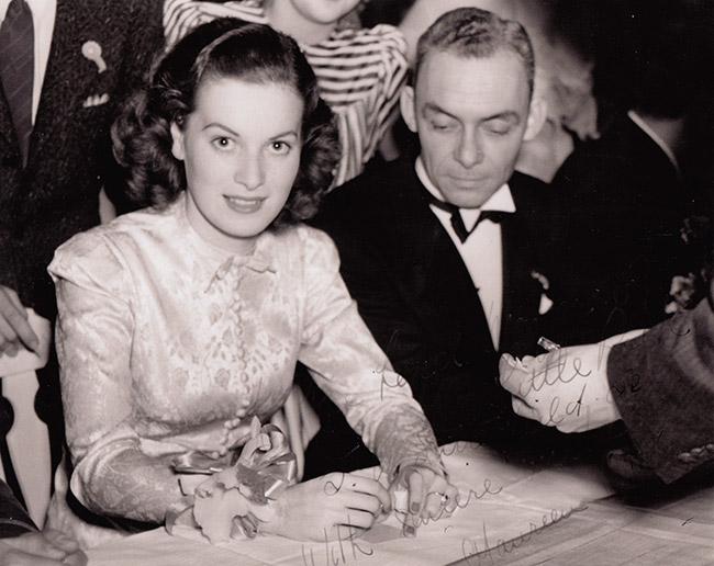 J. V. Satterfield and Maureen O'Hara