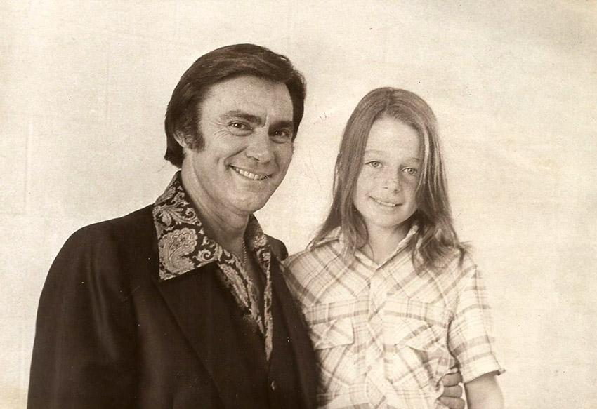 Jim Ed Brown and Daughter