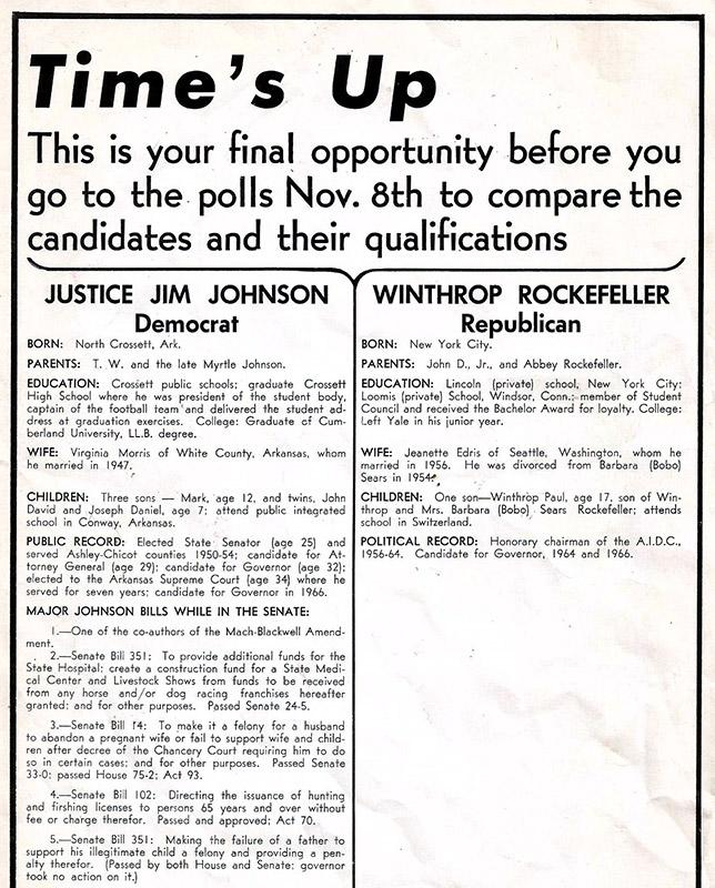 Johnson vs. Rockefeller