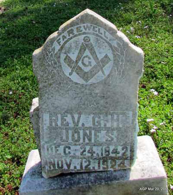 G. H. Jones Gravesite