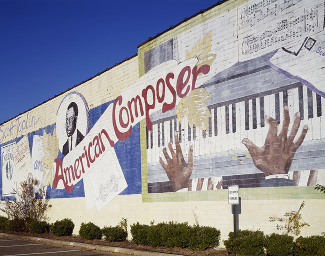 Scott Joplin Mural