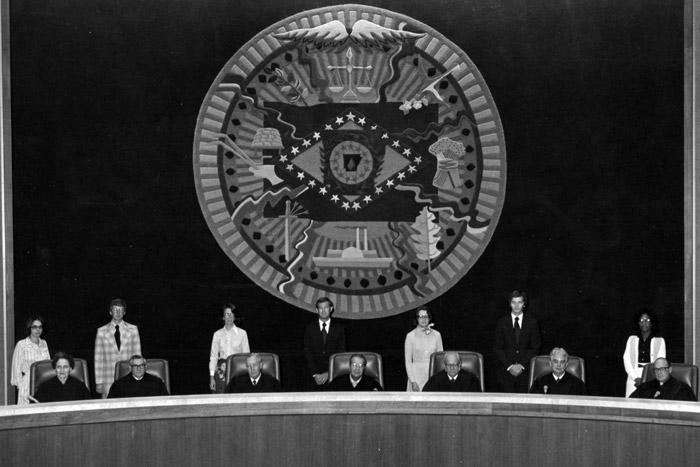 Joyce Warren at Supreme Court