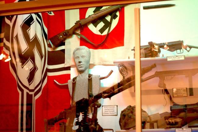 WWII Nazi Memorabilia Display