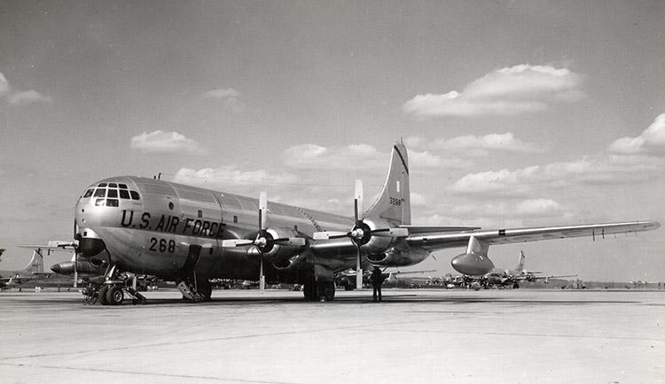 KC-97 on Ramp