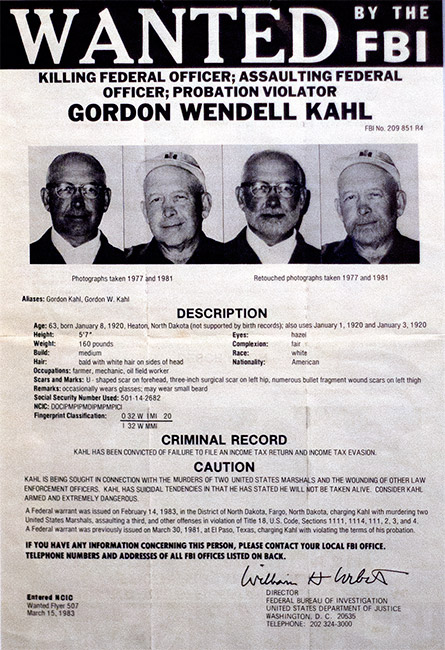 Kahl Wanted Poster