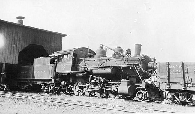 M&NA Engine at Kensett