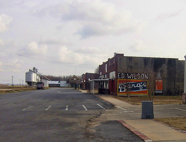 Keo Commercial Historic District