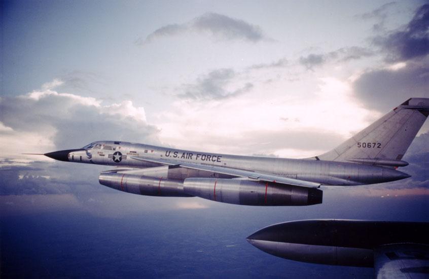 LRAFB B-58 Plane
