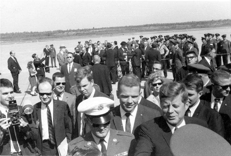 President Kennedy at LRAFB