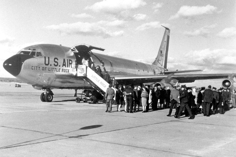 LRAFB: KC-135 City of Little Rock