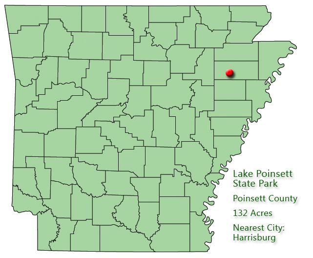 Lake Poinsett State Park: Park Location