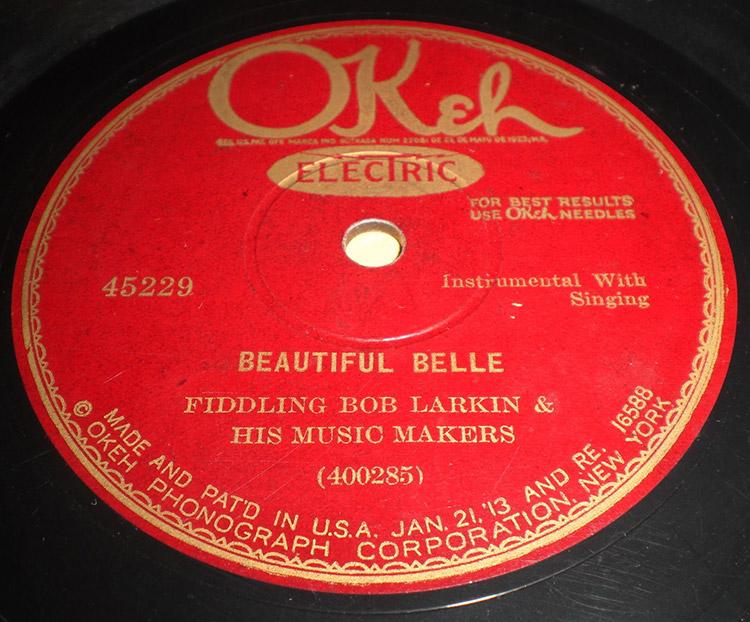 Bob Larkan Record