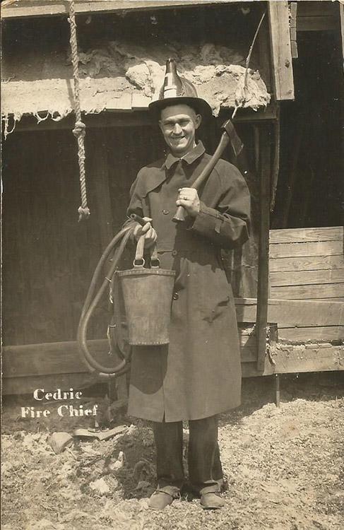 Cedric the Fire Chief