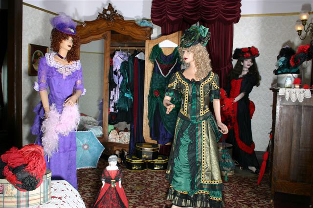 Miss Laura's Social Club Costume Room