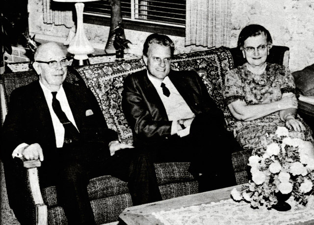 LeTourneaus with Billy Graham