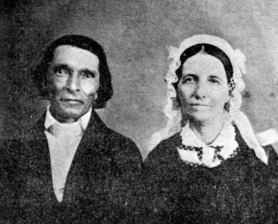 Lee Compere and Wife