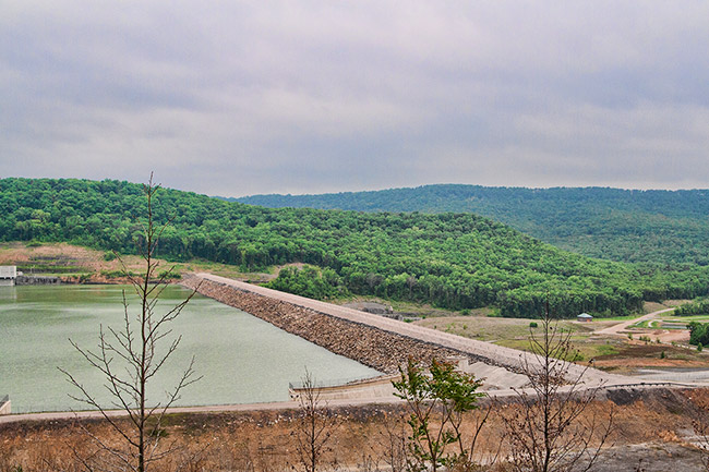 Lake Fort Smith Dam