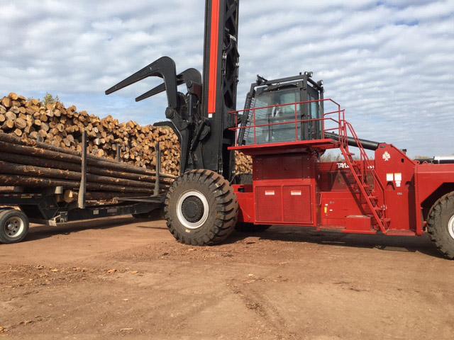 Log Yard in Bearden